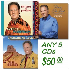 Promotional CD Package - Any 5 CDs